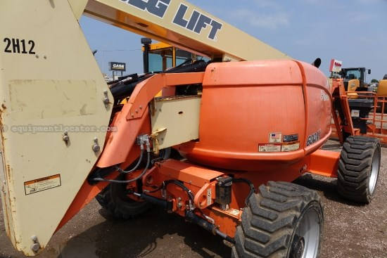 2007 JLG 600AJ, 3X8 Platform W/ Wire Mesh, 29 Ft Overall Boom Lift For Sale