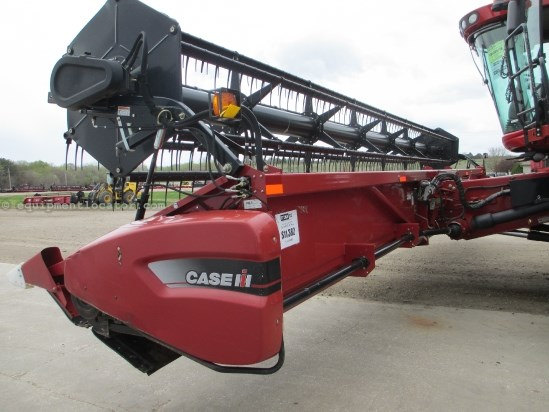 2007 Case IH 2020, 35', HHC, Fits 7088/7010/8010/7120/8120 Header-Flex For Sale