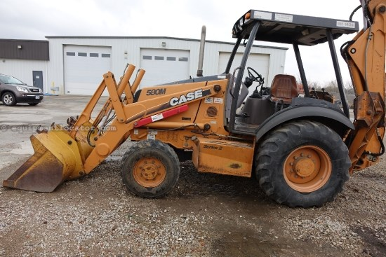 2004 Case 580M, 4X4, Stabilizer Pads, BOCE Loader Backhoe For Sale
