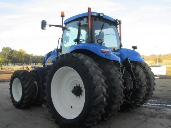2010 New Holland T8040, 2259 Hrs, HD Susp front axle, 4 Remotes,Wts Tractor For Sale