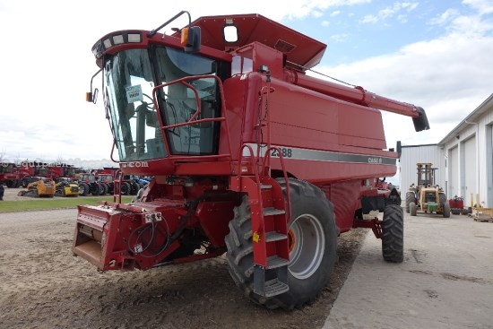 1999 Case IH 2388, UPTIME Ready, 2629 Sep Hr,Spec Rotor,Chopper Combine For Sale