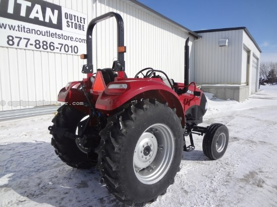 2012 Case IH FARMALL 75C - 99 hrs, 2 hyd, 3pt, ROPS Tractor For Sale