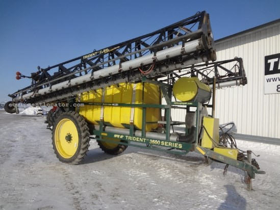 2004 Spray Air 3600 - 90 ft, 1300 gal, Foam Markers Sprayer-Pull Type For Sale