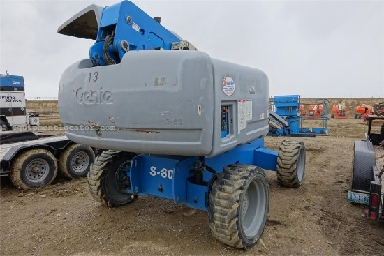 2006 Genie 60, Self-Propelled Telescopic Boom, 66 Ft Max Ht Boom Lift For Sale