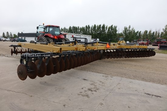 2006 Ezee-On Mfg. 4600, 36 Ft, Std Wing Fold, Scrapers, Rigid Gang  Disk Harrow For Sale