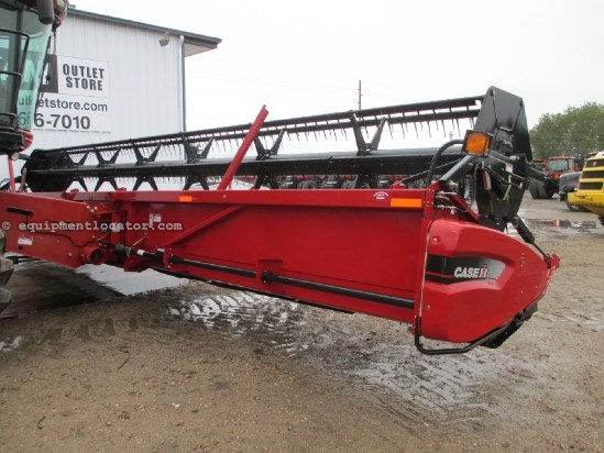 2007 Case IH 2020, 35', Contour, Fits 7088/7010/8010/7120/8120 Header-Flex For Sale