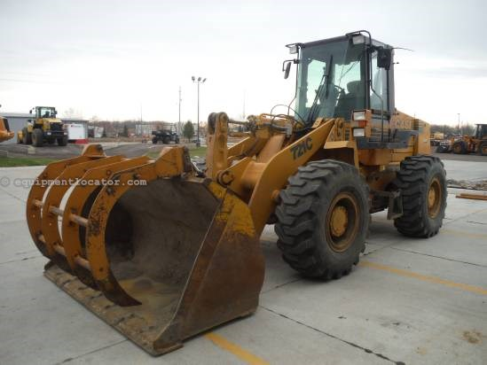 1999 Case 721C, Grapple, Ride Control, Cab W/ Heat  Wheel Loader For Sale