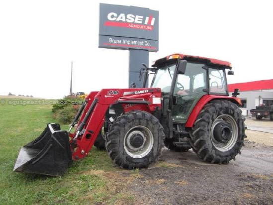 2008 Case IH JX100U Tractor For Sale at EquipmentLocator.com