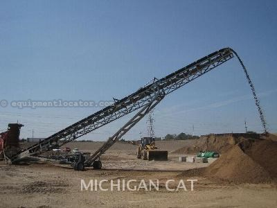 1900 Powerscreen M80 CONVEYOR Belt Conveyor For Sale at