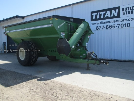 2005 Brent 1084, Tarp, 1000 Bushels, Scale Grain Cart For Sale