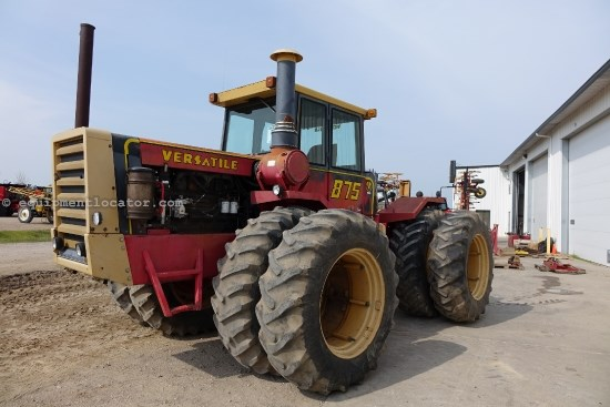 1979 Versatile 875 - 20.8R38 Dls, 12 spd, 280 HP,  Tractor For Sale