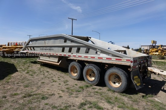 1994 Trail King TK54BDU, Bottom Dump Trailer, Spring Suspension Utility Trailer For Sale