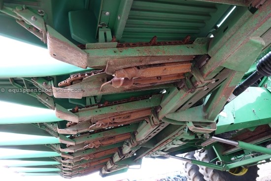 1996 John Deere 893, Fluted Rolls, Low Prof, 9660/9760/9860 Header-Corn For Sale