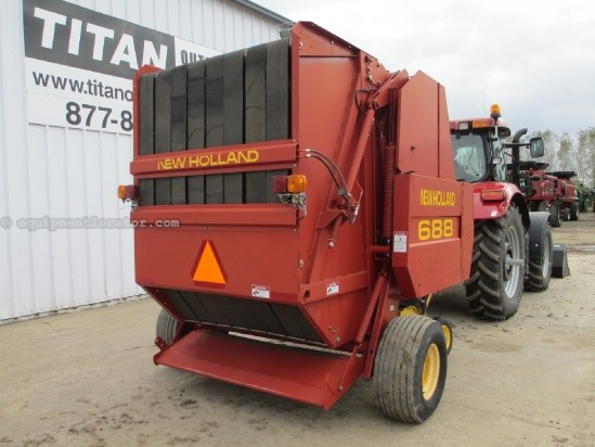 2001 New Holland 688, 5x6 Bales, Standard Pickup, Twine Baler For Sale