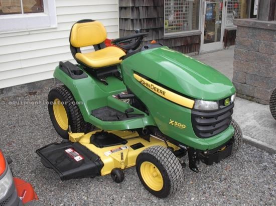 Riding Mower For Sale:  2009 John Deere X500
