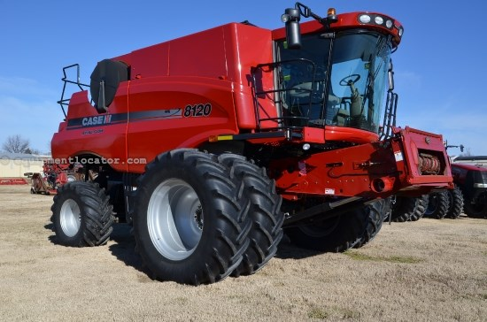 Combine For Sale:  2012 Case IH 8120, 710 Est Hours, 259999.00 USD