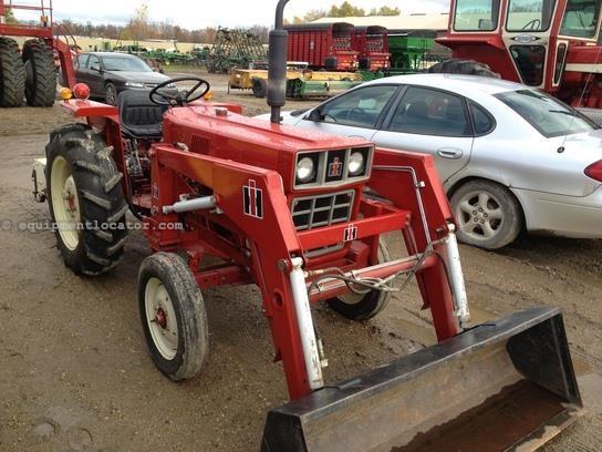 International Harvester 284 Tractor : International harvester tractor for sale at
