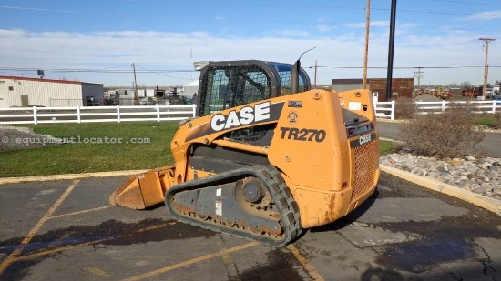 2011 Case TR270, Cab/Air, Hyd Cplr, 2 Spd, 2700 Lift Skid Steer-Track For Sale