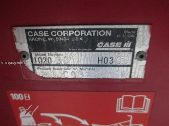 2002 Case IH 1020, 30', Contour, Fits 1688/2188/2366/2388 Header-Flex For Sale