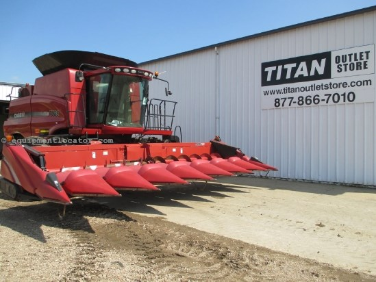 2010 Case IH 3408, 8R36, Contour, Fits 6088/7010/7088/7120 Header-Corn For Sale