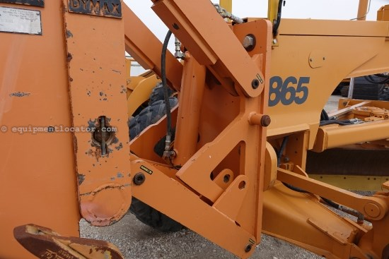 2008 Case 865VHP, 4WD, Front Coupler Motor Grader For Sale