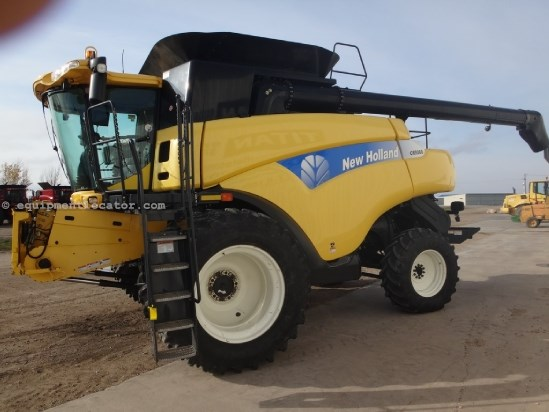 2007 New Holland CR9060, 1426 Sep Hr, UPTIME Ready, RT, Chopper Combine For Sale