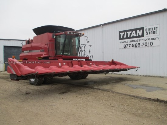 2012 Case IH 3412, 12R30, Hyd Deck Plates, Fits 7010/7120/8010 Header-Corn For Sale