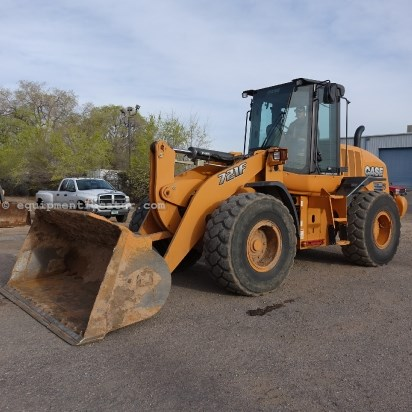 2012 Case 721F, JRB Cplr, Cab/Air, 20.5x25 Tires Wheel Loader For Sale