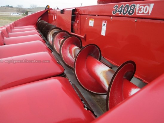 2010 Case IH 3408, 8R30, New Sprockets & Chains, 7010/7120/8010 Header-Corn For Sale