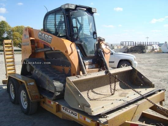 2012 Case TR320, Cab W/ Heat and AC, 78 Inch Bkt W/ BOCE Skid Steer-Track For Sale