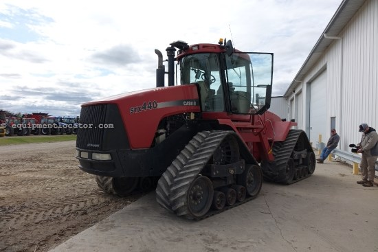 "2001 Case IH STX440Q, 8093Hr, 440 HP, 30"" Track, PS Trans Tractor For Sale"
