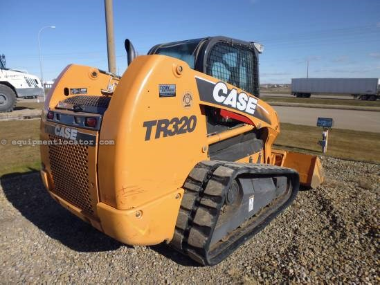 2011 Case TR320, Cab w/heat and air, 2 spd, RC, Hyd. QC  Skid Steer-Track For Sale