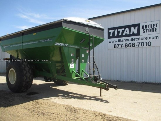 "2005 Brent 1080,Scale, Tarp, Big 1000 PTO, 20"" Auger Grain Cart For Sale"