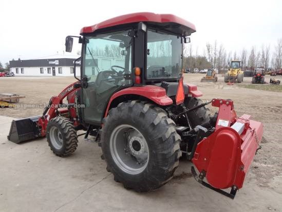 2012 Case IH Farmall 40B cvt - 206 hrs, Loader, CAH, Tiller Tractor For Sale