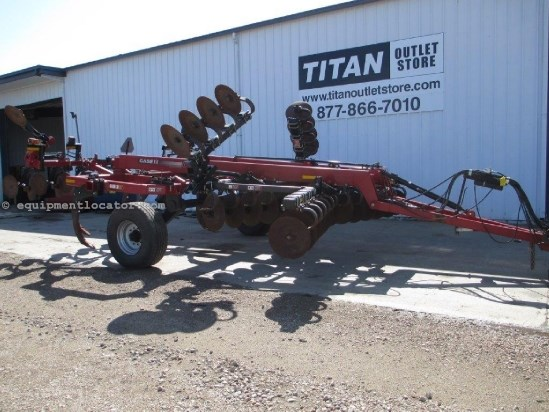 2010 Case IH 870, 18Ft, Pull Type, Hyd Section Fold, 9 Shank Disk Ripper For Sale