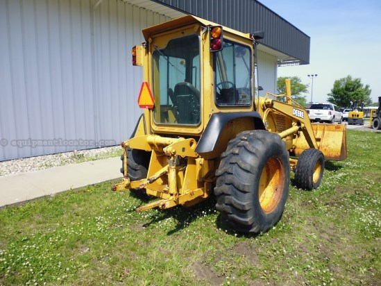 "2002 John Deere 210, 84"" Bucket, 3900 Hrs Front End Loader Attachment For Sale"