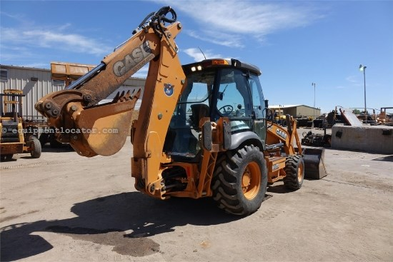 2012 Case 580SN, 4X4, E-Hoe, Cab W/ Air Loader Backhoe For Sale