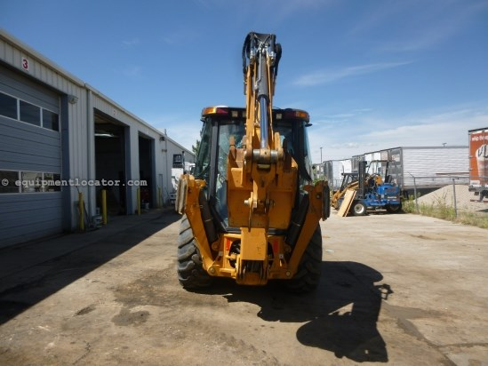 2012 Case 580SN, 4x4, E-Hoe, Cab/Air Loader Backhoe For Sale
