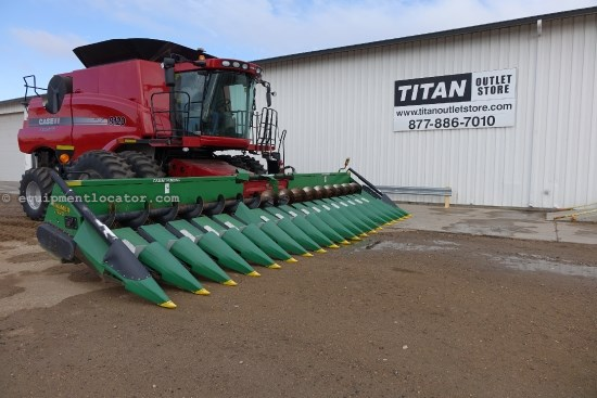 2008 Calmer 1820,18R20, Contour, Hyd Dk Plates, 7010/8010/7120 Header-Corn For Sale