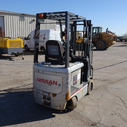 Nissan BXC30, Electric Drive, 36 Volt Lift Truck/Fork Lift-Rough Terrain For Sale
