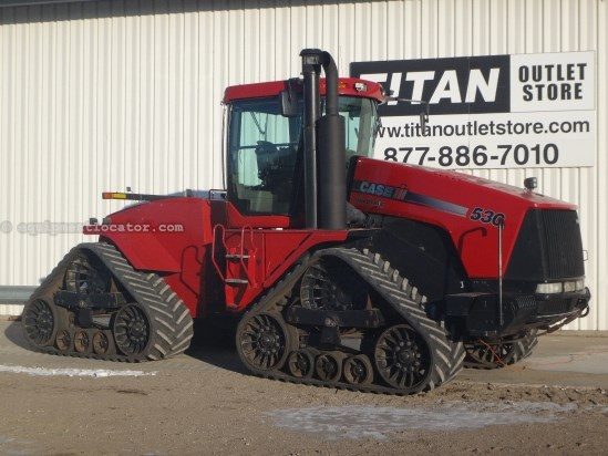 2007 Case IH STX530Q, 5587 Hr, 535 HP Tractor For Sale