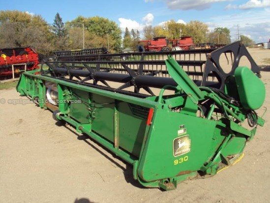 1995 John Deere 930F, 30 Ft, 8820/9600/9610 Header-Flex For Sale