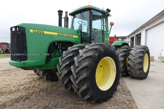 1998 John Deere 9400 - 10,053 hrs, 710R38, 24 spd Synchro, 5 hyd Tractor For Sale