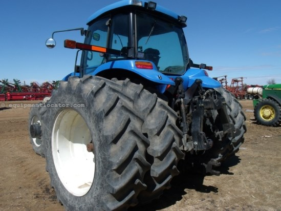 2005 New Holland TG255, 5653 Hrs, Differential Lock, 4 Remotes Tractor For Sale