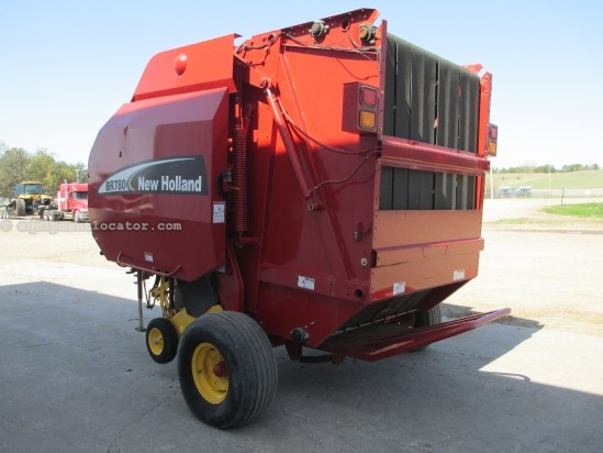 2003 New Holland BR780A, 5500 Bales, 1000 PTO, Auto Twine Wrap Baler For Sale