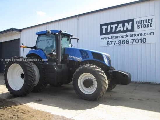2012 New Holland T8390, WARRANTY*, CAB SUSPENSION, HIGH CAP PUMP Tractor For Sale