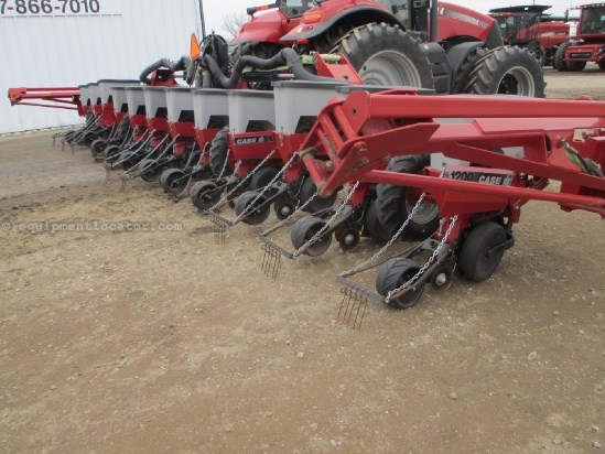 2001 Case IH 1200, 12R36, AFS MONITOR, STACKER,  Planter For Sale