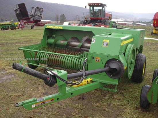 Baler-Square For Sale:  2009 John Deere 348