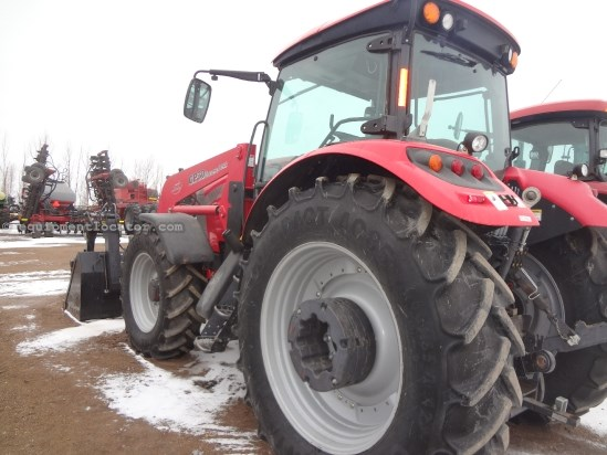 2012 McCormick MTX145 - 861 hrs, Miller Loader, PS, 3 hyd, 3pt Tractor For Sale