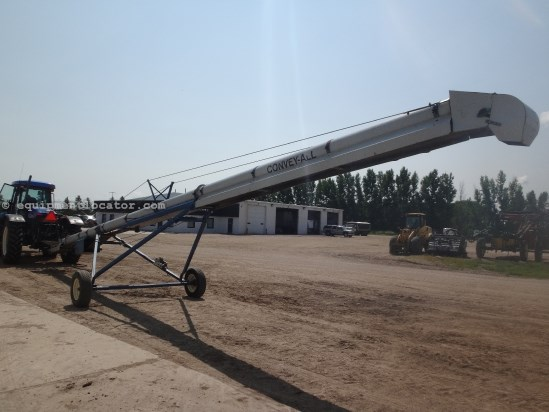 1997 Convey-All TC1045 - 10X45, Hyd Drive, Hand Crank Lift Auger-Portable For Sale